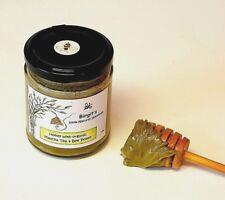 Matcha Tea Organic Cremonial Grade & Bee Pollen infused Raw Wildflower Honey