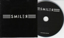 SMILER Sampler 6-trk promo test CD + PR inc demos Professor Green