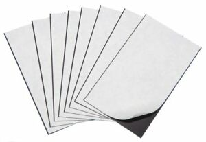 """Marietta Magnetics - 10 Magnetic Sheets of 8.5"""" x 11"""" Adhesive 20 mil"""