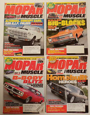 Lot of 14 Mopar Muscle, Mopar Collectors Guide and Muscle Machines magazines +