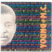 YOUNG MC: Principal's Office DELICIOUS 80s Rap Electro 45 w/ PS Super NM- Stock