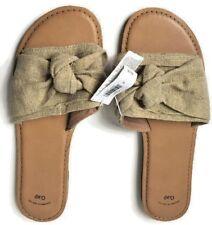 ddbfe6d51 Gap Women s Size 10 Gold Knot Sandal Slip On Flip Flop Shoe