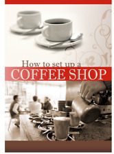 Don Clarke Guide How to Set up start a Coffee Shop Ebook book on CD