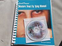 Western Trout  Fly Tying manual revised DVD and Bonus digital book