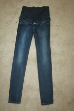 H&M stretch skinny maternity jeans 4