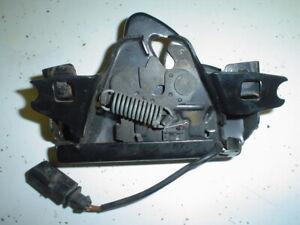Hood Latch w/ Alarm & Guard OEM VW MK3 1994-99.5 Golf,GTI,Jetta / Cabrio 1995-02