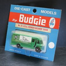 Budgie Miniature Series No. 57 R.E.A. Express Delivery Truck on Card