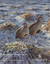 CHRISTIE'S Bird in Art Wildlife Harrison Rickman Robjent Thorburn Catalog 1996