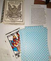 1800's Western Cowboy Pharo Faro Poker Square Cards see pics