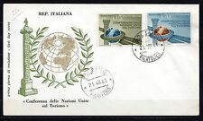 Italy - 1963 Tourism conference - Mi. 1147 clean unadressed FDC