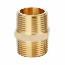 U.S. Solid Brass Pipe Fitting, 3/4