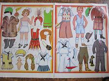 Vtg 1986 Loraine Morris ROARING Twenties Magazine Paper Doll UNCUT