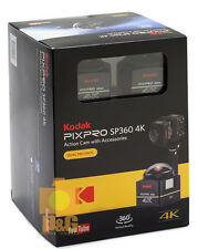 Kodak PIXPRO SP360 4K Action Camera Dual Pro Pack / 2x Action Camera //