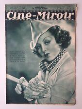 CINE MIROIR N°579 8 MAI1936 COUV RENEE ST CYR