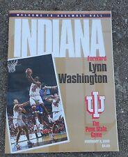 INDIANA HOOSIERS 2000 Basketball Program  Penn State