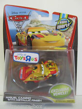 Disney PIXAR Cars 2 - MIGUEL CAMINO Car w/ GOLD Metallic Finish - Special Deco