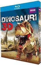 Dinosauri 3D Blu Ray 1080p Full HD BBC Preistoria Spettacolare