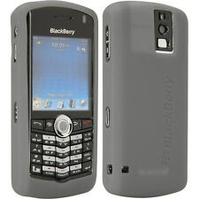 New Original Blackberry GREY Silicone Skin Case Gel Sleeve for Pearl 8100 8100c