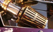 vergoldet  Abdeckung für K&N 57i Kit offener Luftfilter_Pilz VR6,G60  gold