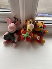 Walt Disney - Christmas Hanging Decorations - Winnie The Pooh, Tigger & Piglet