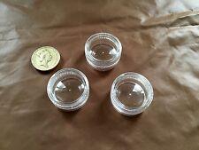 Clear Mini Jar Pot Cream Travel Container Plastic Empty