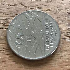 5 FRANC 1992 Mendes France - piece monnaie france argent