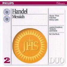 HARPER/WATTS/DAVIS/LSO/+ - DER MESSIAS (GA) 2 CD NEU