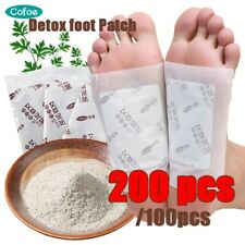 Detox Foot Patches Pads Body Toxins Feet Slimming Stickers toxin feet pads