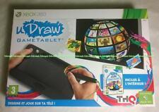 uDraw GameTablet Microsoft XBOX 360 tablette graphique Neuf en boite scellée