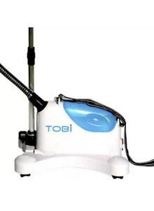TOBi  PROFESSIONAL FABRIC STEAMER NEW-5X FASTER IRONING-REMOVES WRINKLES NIB