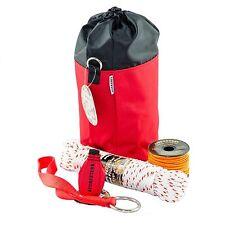 Throw Line Kit, Throw Line, Throw Bag, Chain Saw Strap, 50'Sash Cord, Mini Bag