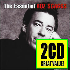 BOZ SCAGGS (2 CD) THE ESSENTIAL ~ LIDO SHUFFLE ++ GREATEST HITS / BEST OF *NEW*