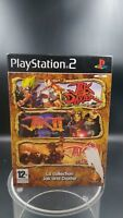 jeu video ps2 playstation 2 pack jac and daxter 1 2 3 complet TBE VF PAL