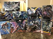 Huge Gundam Gunpla Lot With HG, MG, RG, And Full Mechanics