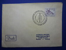 LOT 12561 TIMBRES STAMP ENVELOPPE MUSIQUE POLOGNE ANNEE 1981