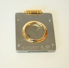 Vintage Bacardi Ron 8 Anos Rum Promo Cigar Cutter New NOS 1990s