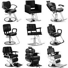 Heavy Duty Hydraulic Recline Barber Chair Salon Beauty Shampoo Styling Equipment