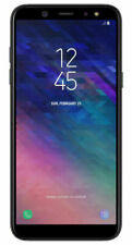 Samsung Galaxy A6 SM-A600 - 32GB - Black for AT&T (Cricket/H2O/Net10) C Stock
