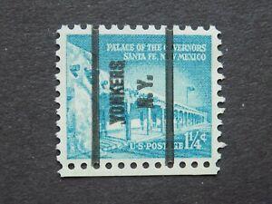 """(1) MNH U. S. pre cancel stamp-Scott # 1031A-w/a """" YONKERS, N.Y.. P/C"""