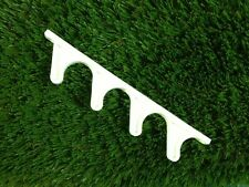 Qty-1  4 Position Adjustment Bracket - replacement part for chaise lounge-White