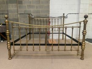 AND SO TO BED LONDON  AUSTEN BRASS BED 6FT SUPERKING