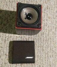 Single Bose Redline Cube Satellite Speaker Black Acoustimass
