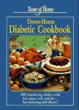 NEW BOOK: Taste of Home DOWNHOME DIABETIC Cookbook Diabetes ~ BOOKS ON SALE NOW!