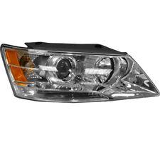 Headlight Assembly w/Bulb Right Passenger Side For 2009-2010 Hyundai Sonata