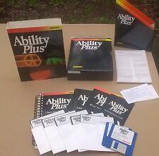 Ability Plus by Migent 3.5 & 5.25 Disks IBM & Compatibles Complete Big Box