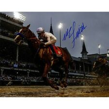 Mike Smith Autographed Signed 16x20 Photo Justify Jockey Steiner Kentucky Derby