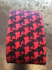 Lilly Pulitzer Gents Silk Tie Pink Blue Elephants
