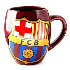 FC BARCELONA TEA TUB CERAMIC TEA COFFEE MUG CUP IN GIFT BOX NEW XMAS