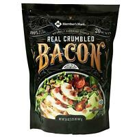 Member's Mark Real Crumbled Bacon (20 oz.) - 2 Pack