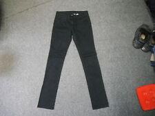 "Divided Slim Leg Jeans Size 12 Leg 32"" Black Faded Ladies Jeans"